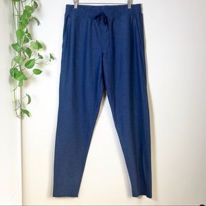 Outdoor Voices Sunday Sweatpants Navy Blue EUC Med